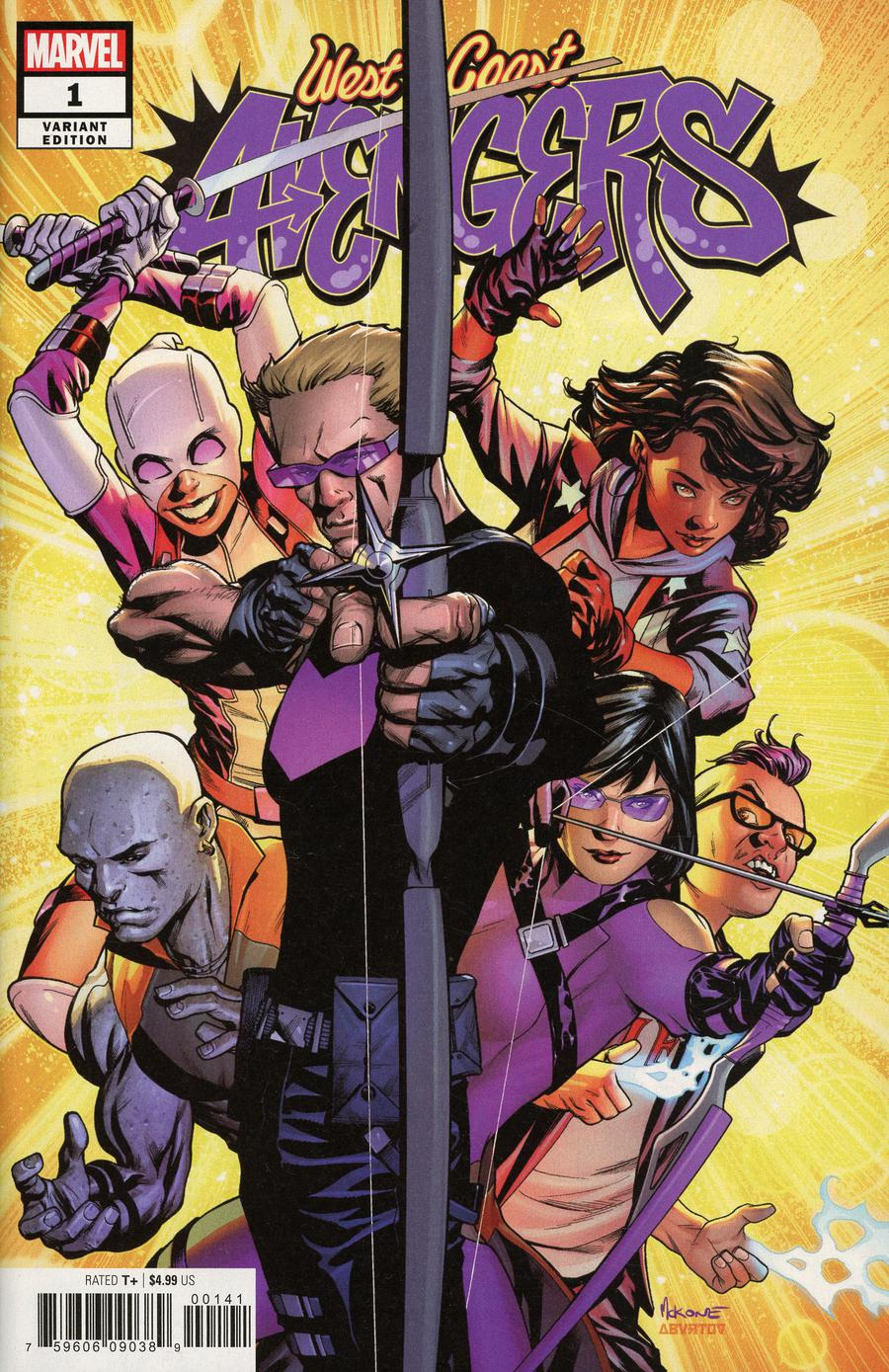 West Coast Avengers Vol 3 #1 Cover D Incentive Mike McKone Variant Cover