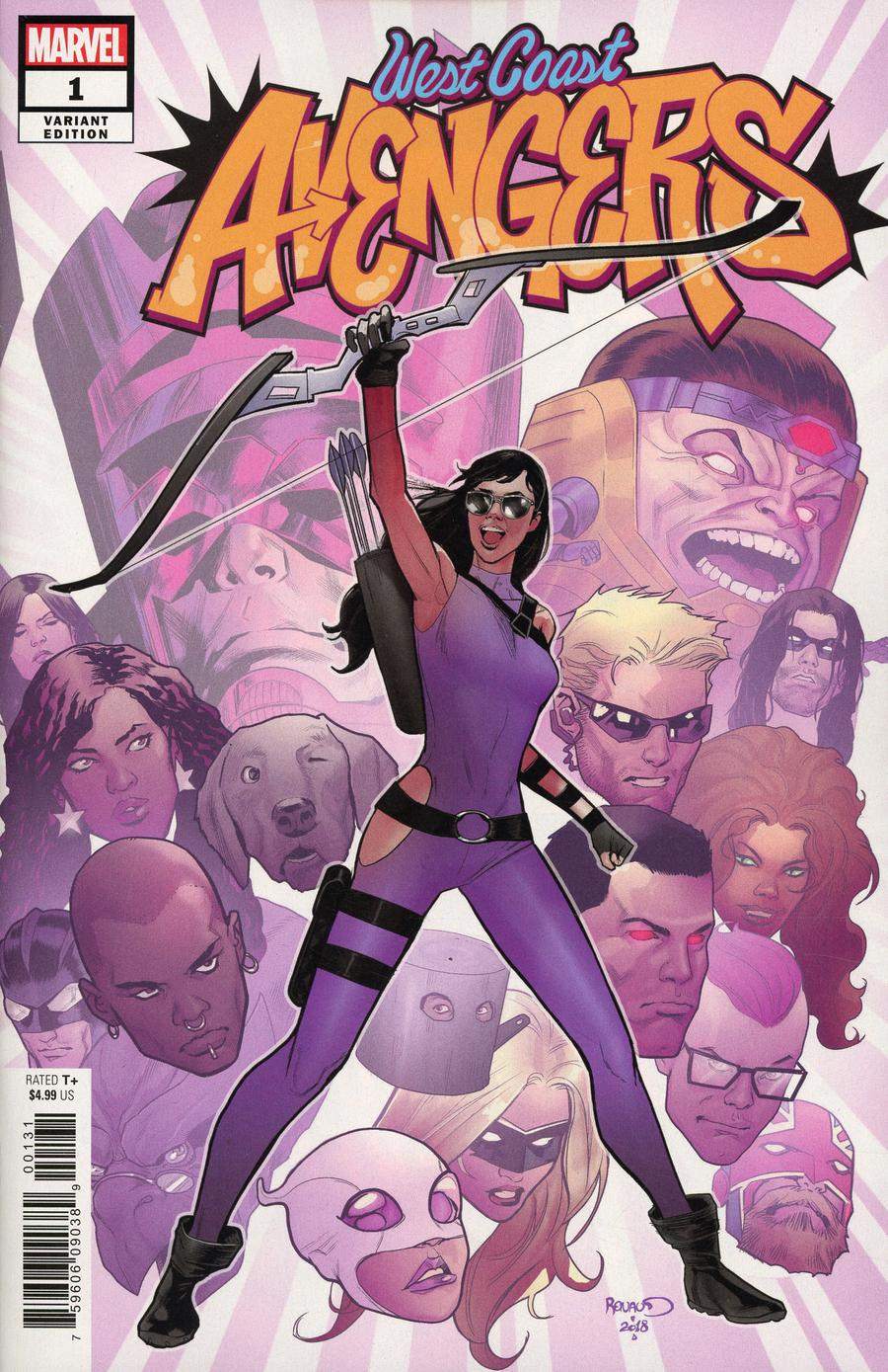 West Coast Avengers Vol 3 #1 Cover C Incentive Paul Renaud Variant Cover