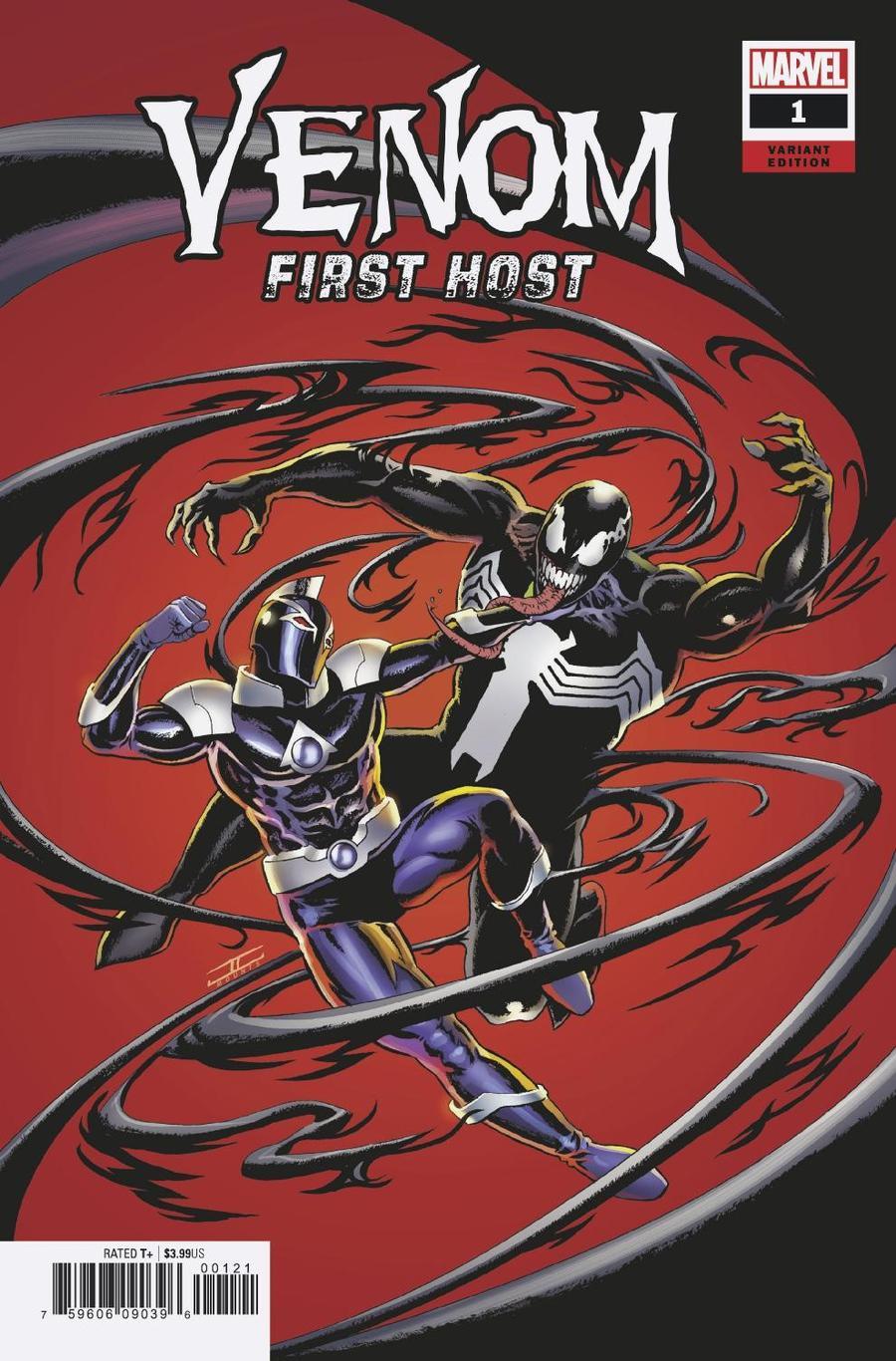 Venom First Host #1 Cover D Incentive John Cassaday Variant Cover