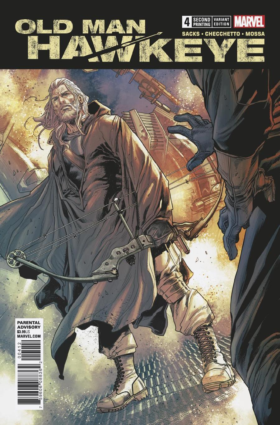 Old Man Hawkeye #4 Cover B 2nd Ptg Variant Marco Checchetto Cover