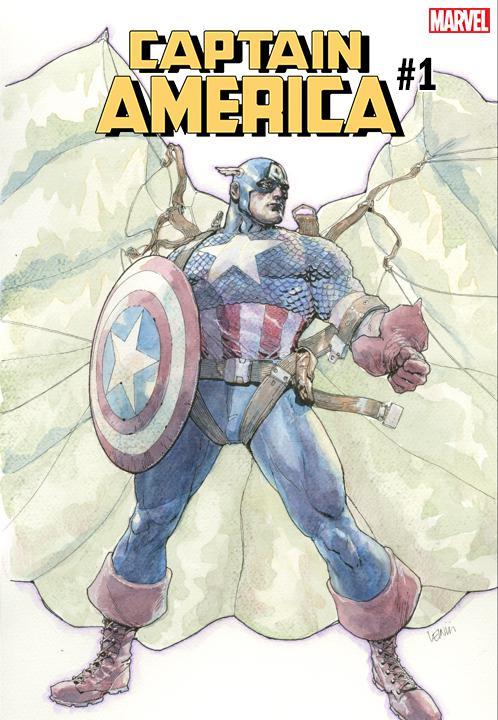 Captain America Vol 9 #1 Cover E Variant Leinil Francis Yu Cover