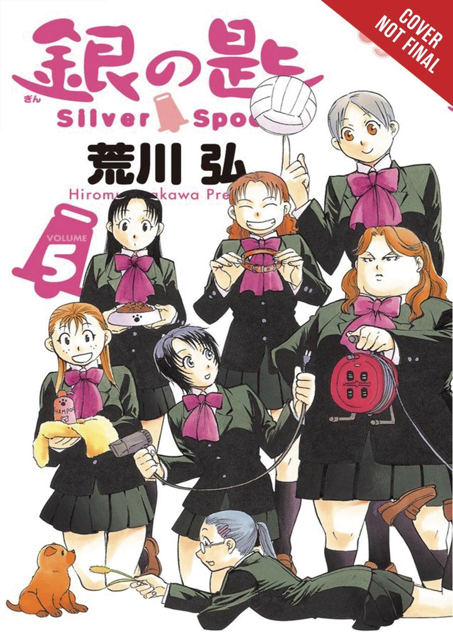 Silver Spoon Vol 5 GN