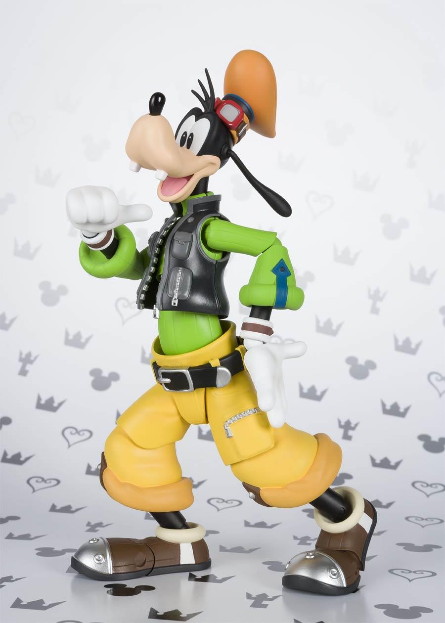 Kingdom Hearts II S. H. Figuarts - Goofy Action Figure