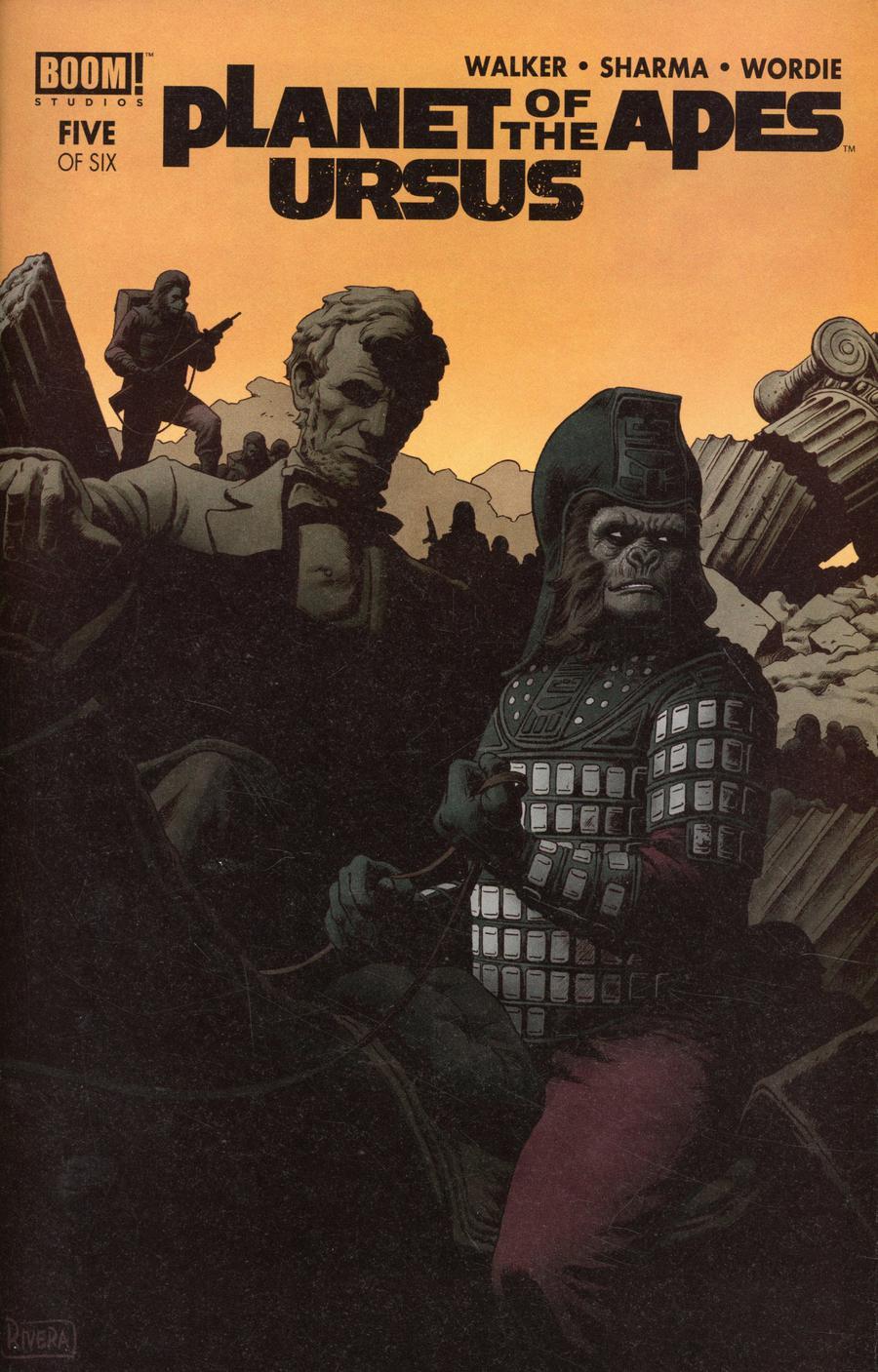 Planet Of The Apes Ursus #5 Cover A Regular Paolo Rivera & Joe Rivera Cover