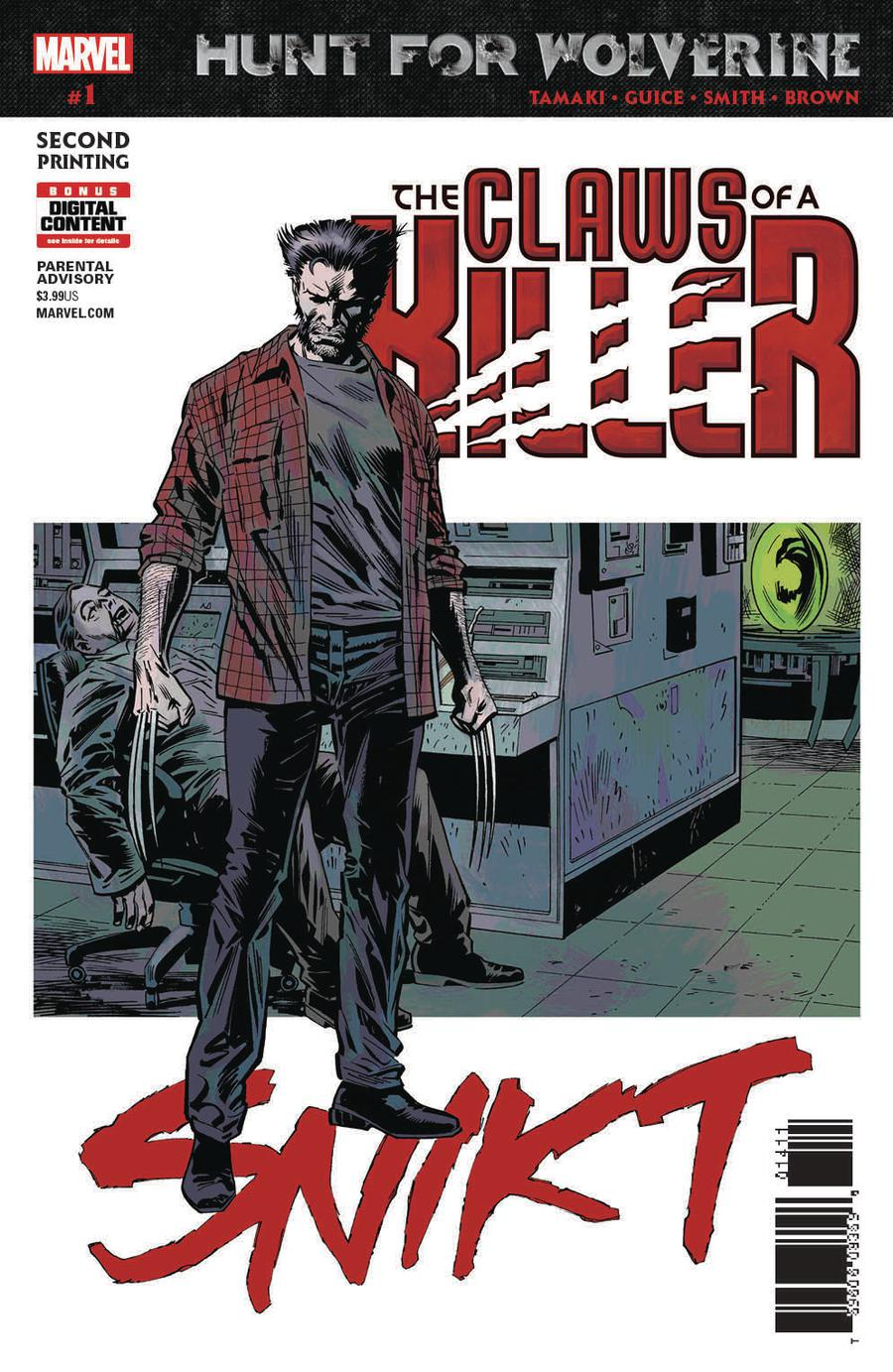 Hunt For Wolverine Claws Of A Killer #1 Cover D 2nd Ptg Variant Greg Land Cover