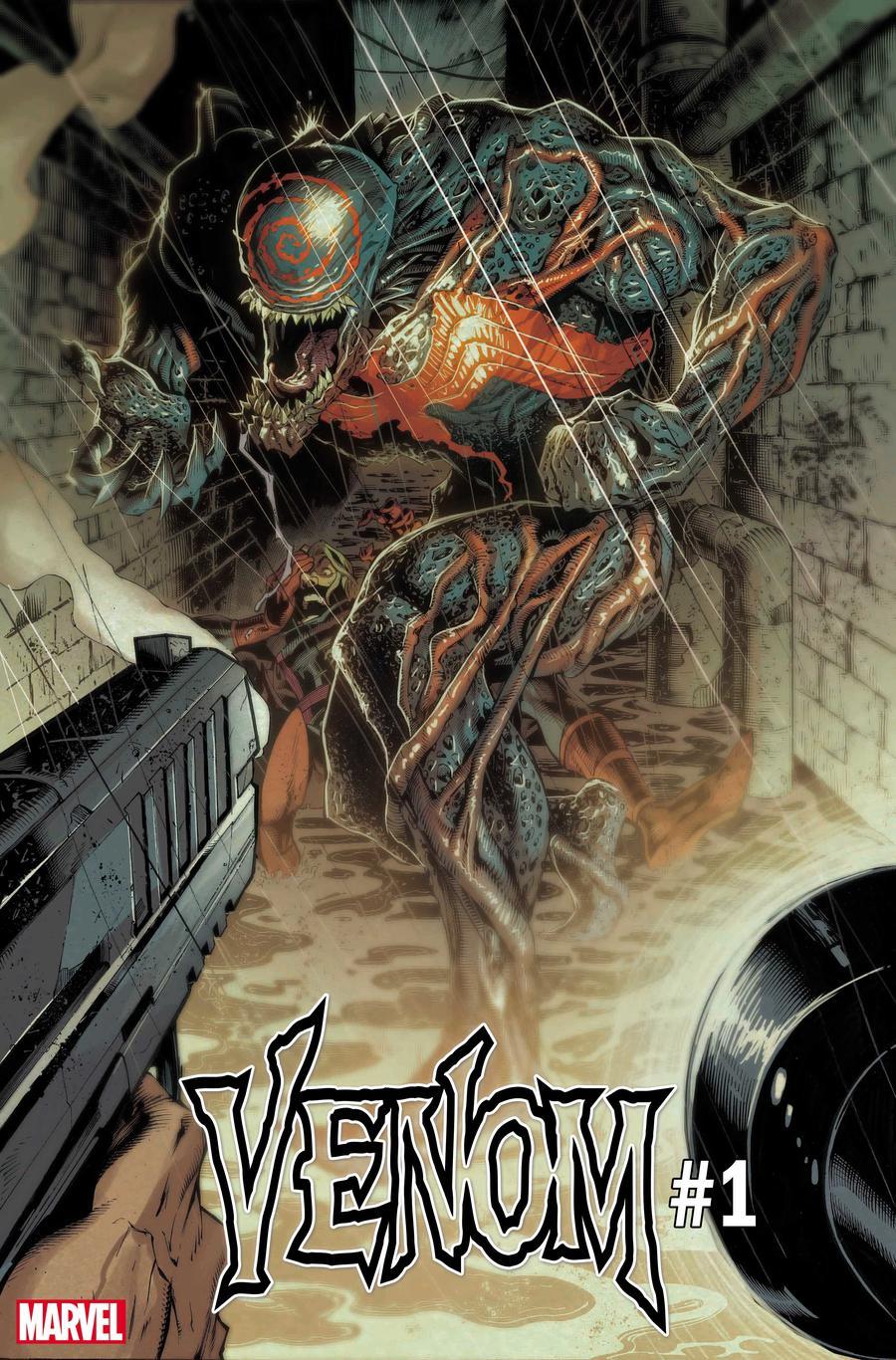 Venom Vol 4 #1 Cover L 2nd Ptg Variant Ryan Stegman Cover