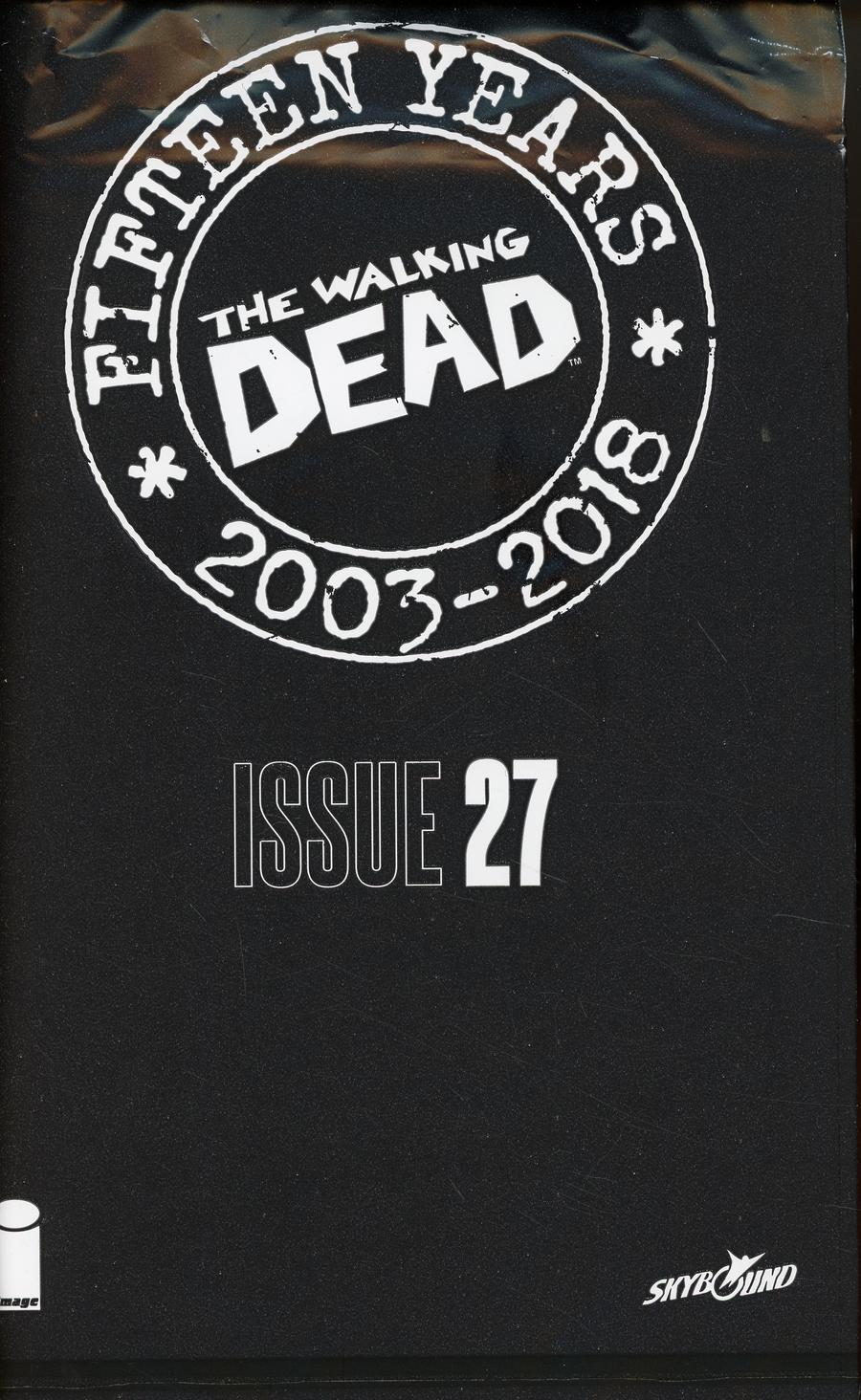 Walking Dead 15th Anniversary Blind Bag Edition #27 Cover A Declan Shalvey Cover With Polybag
