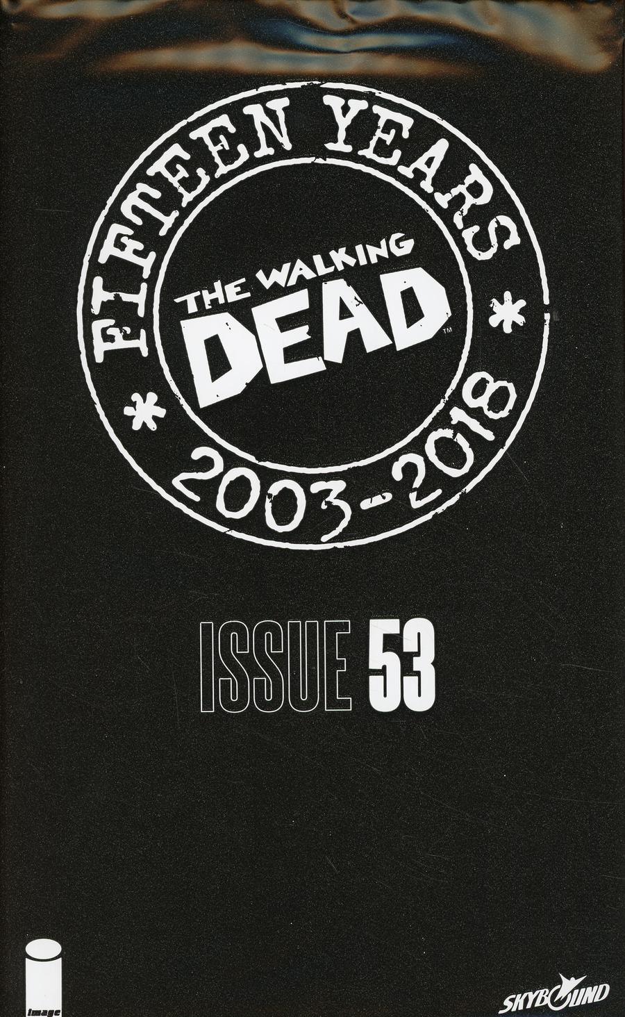 Walking Dead 15th Anniversary Blind Bag Edition #53 Cover A Kim Jung Gi Cover With Polybag