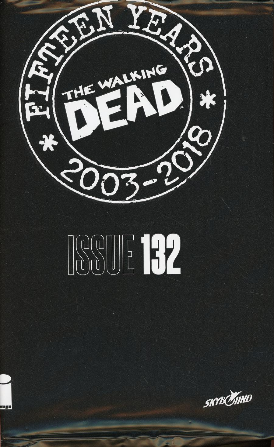 Walking Dead 15th Anniversary Blind Bag Edition #132 Cover A Ashley Wood Cover With Polybag