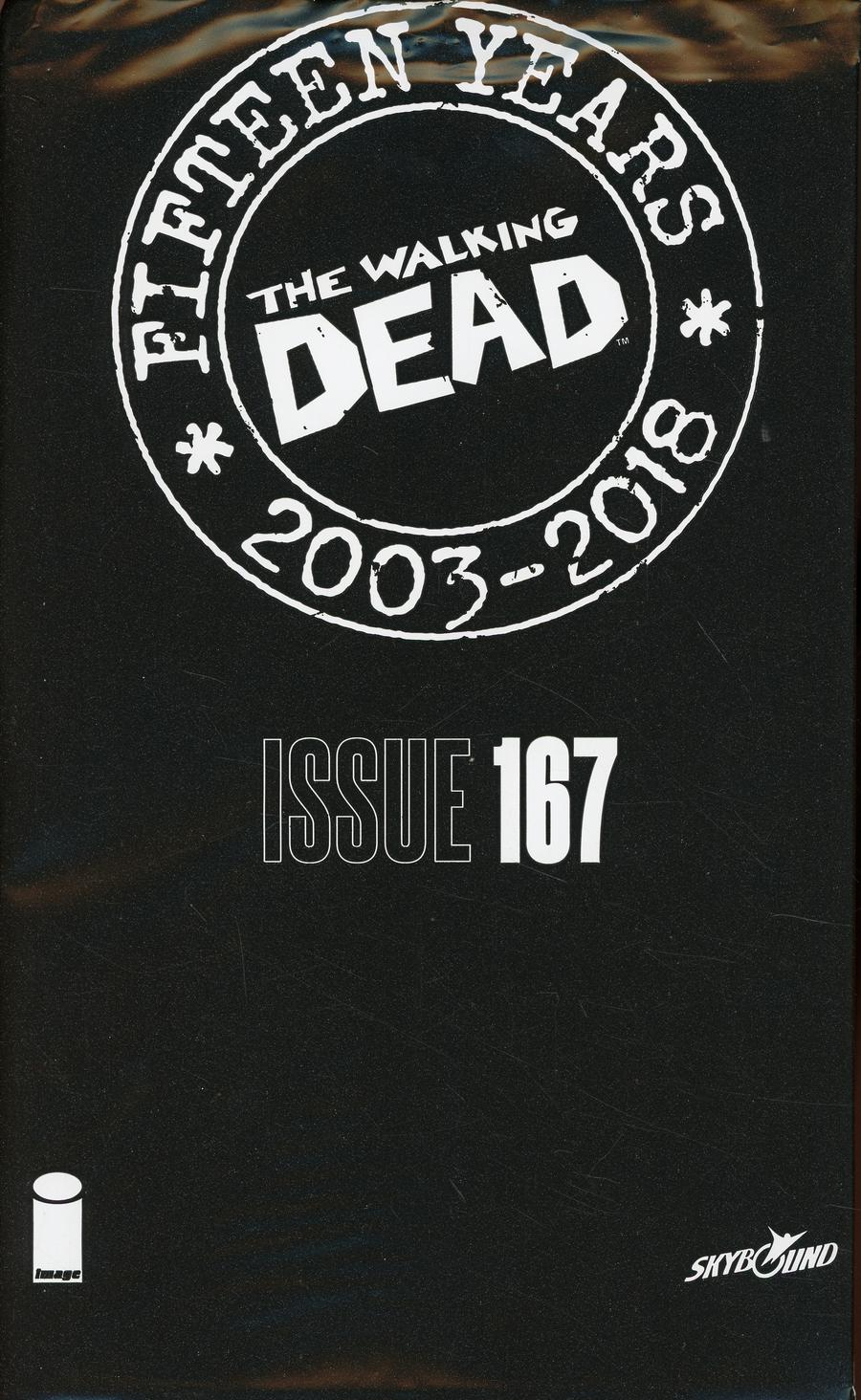 Walking Dead 15th Anniversary Blind Bag Edition #167 Cover A Sana Takeda Cover With Polybag