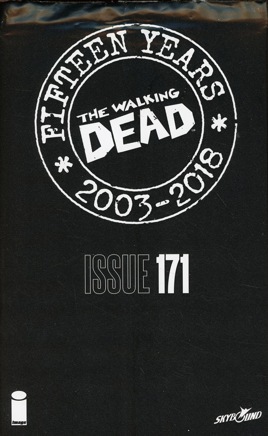 Walking Dead 15th Anniversary Blind Bag Edition #171 Cover A Jen Bartel Cover With Polybag