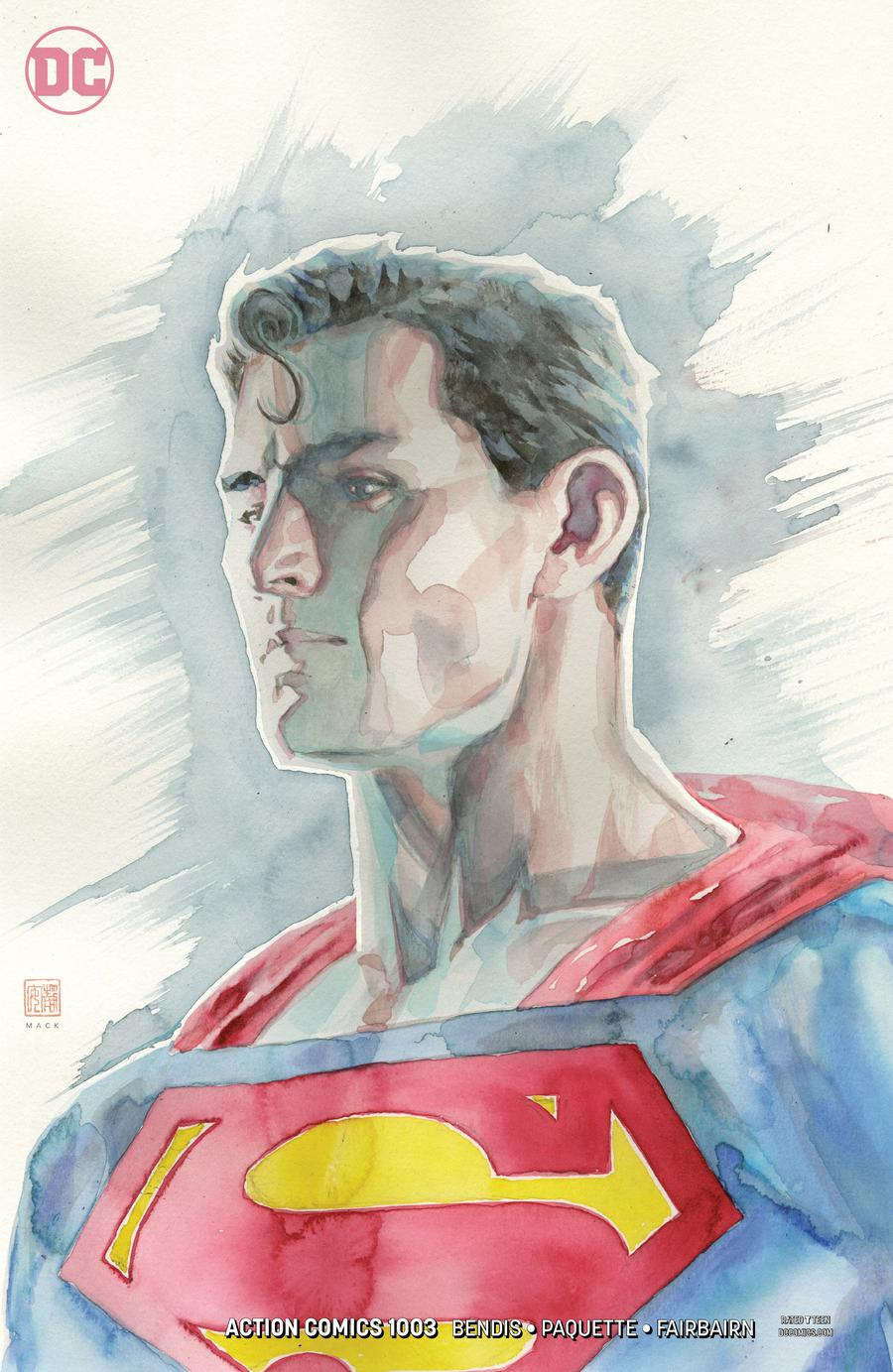 Action Comics Vol 2 #1003 Cover C Variant David Mack Cover
