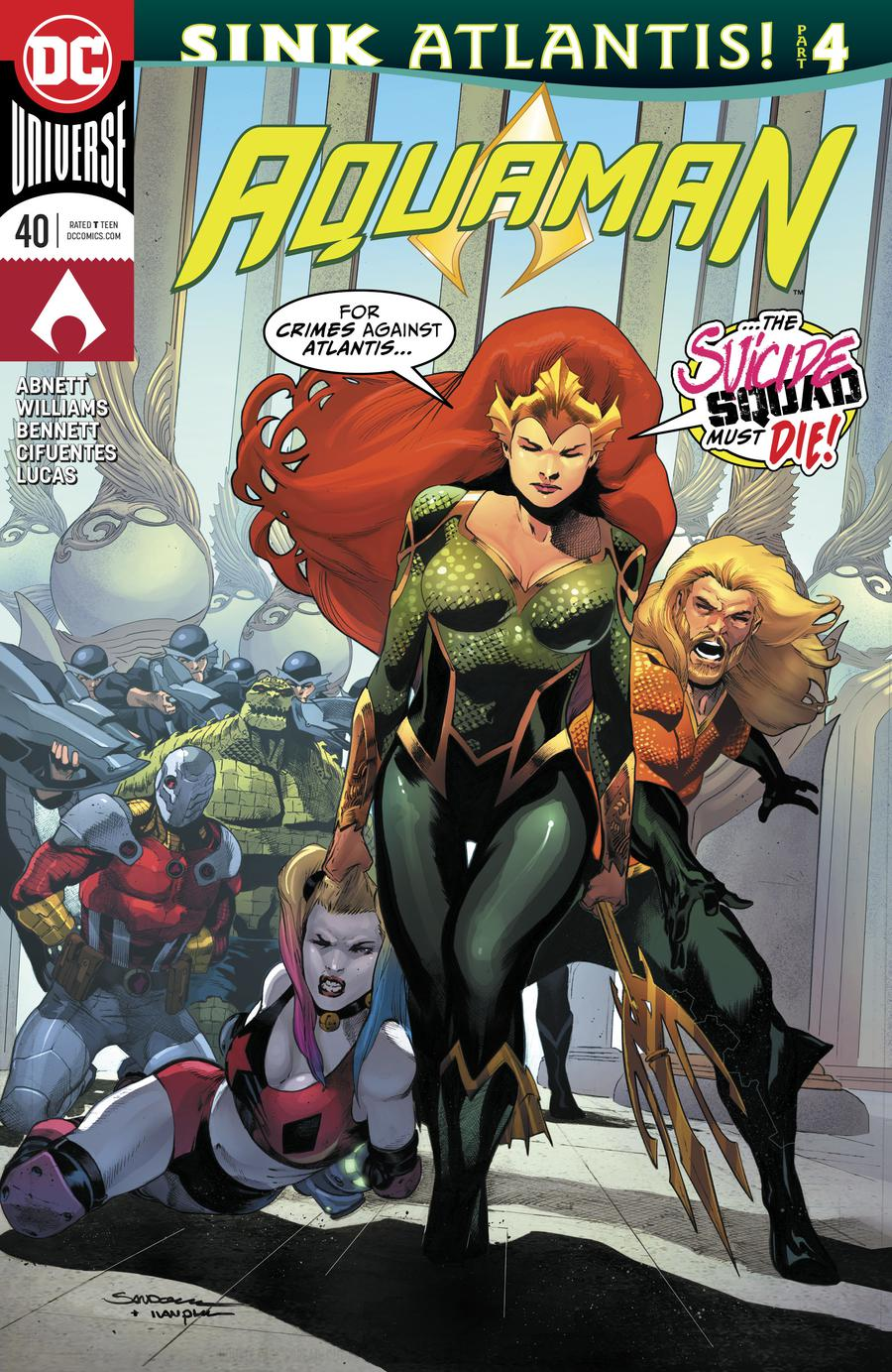 Aquaman Vol 6 #40 Cover A Regular Rafa Sandoval Cover (Sink Atlantis Part 4)