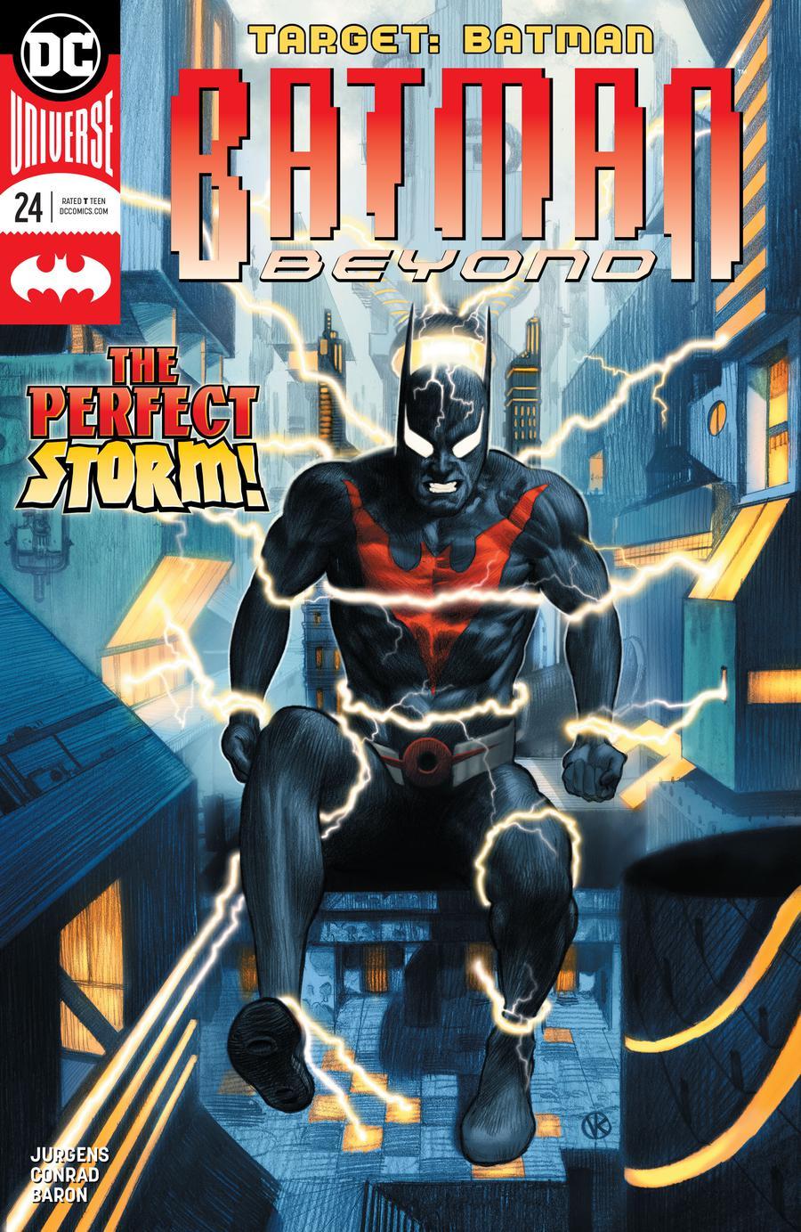 Batman Beyond Vol 6 #24 Cover A Regular Viktor Kalvachev Cover