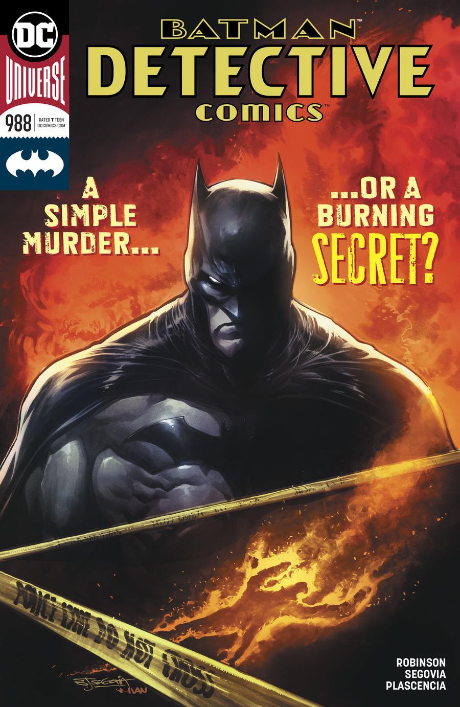 Detective Comics Vol 2 #988 Cover A Regular Stephen Segovia Cover