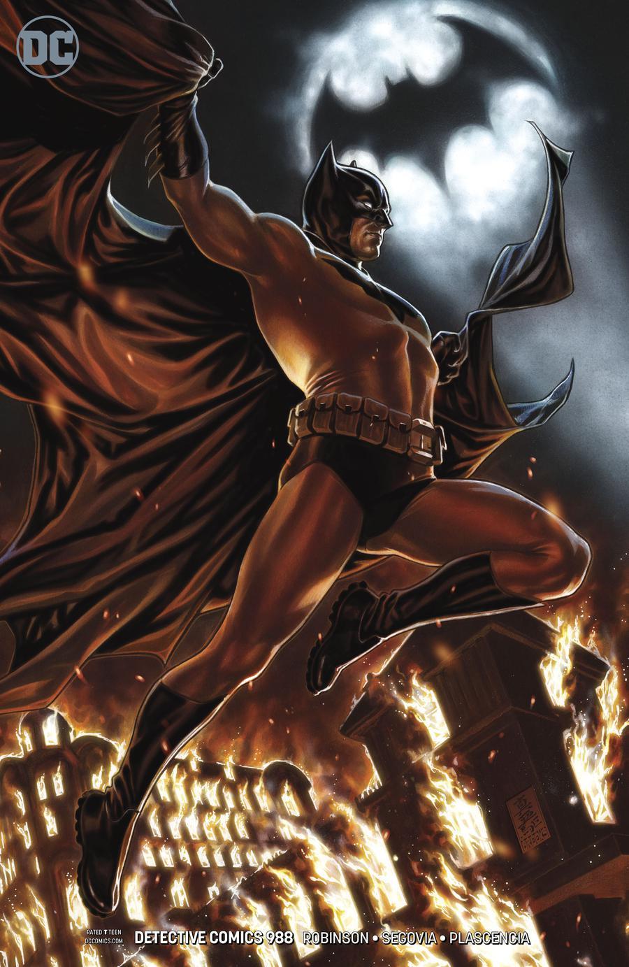 Detective Comics Vol 2 #988 Cover B Variant Mark Brooks Cover