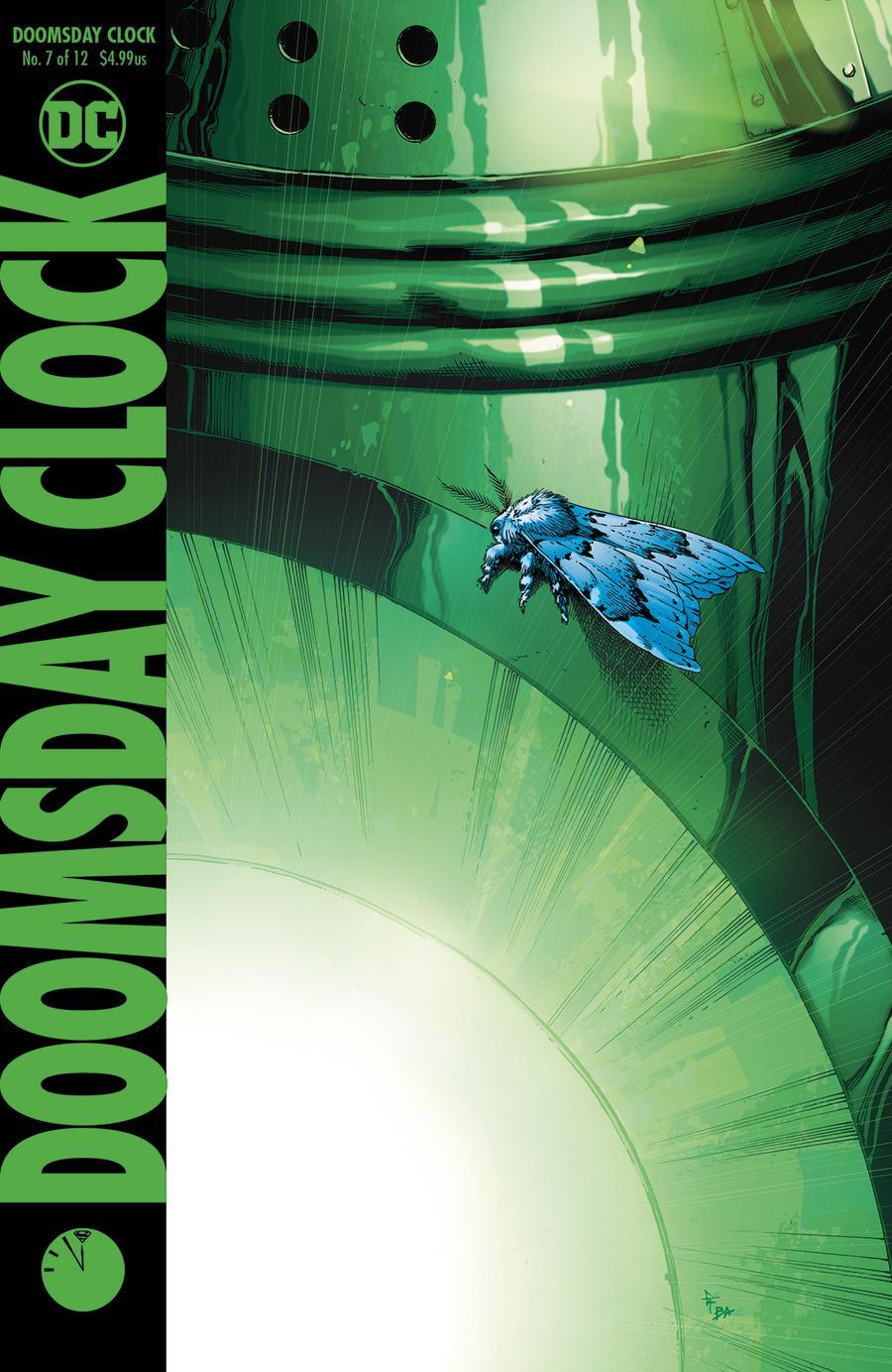 Doomsday Clock #7 Cover A 1st Ptg Regular Gary Frank Cover