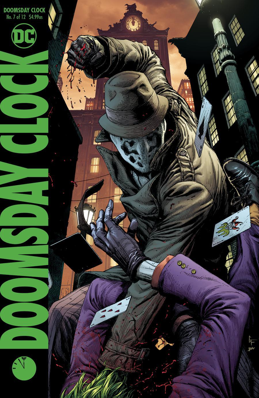 Doomsday Clock #7 Cover B Variant Gary Frank Cover