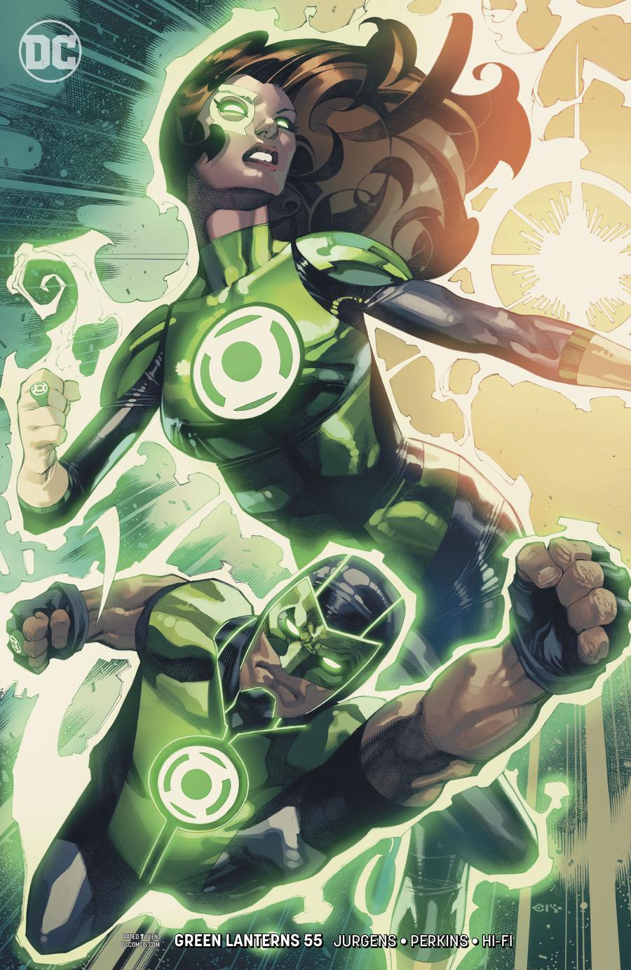 Green Lanterns #55 Cover B Variant Chris Stevens Cover