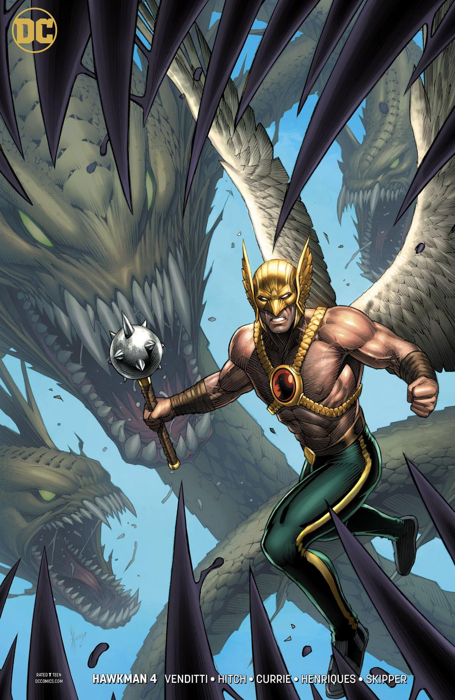 Hawkman Vol 5 #4 Cover B Variant Dale Keown Cover
