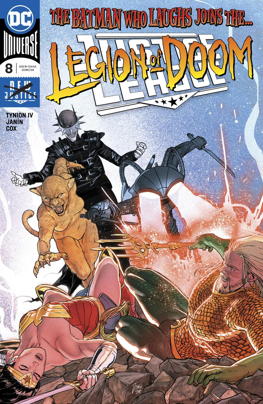 Justice League Vol 4 #8 Cover A Regular Mikel Janin Cover