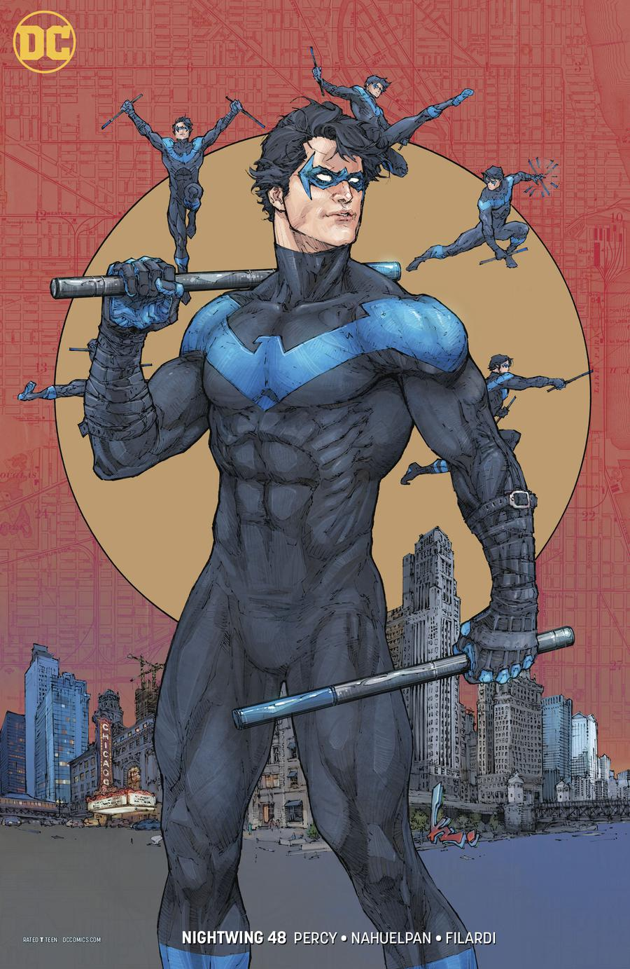 Nightwing Vol 4 #48 Cover B Variant Kenneth Rocafort Cover