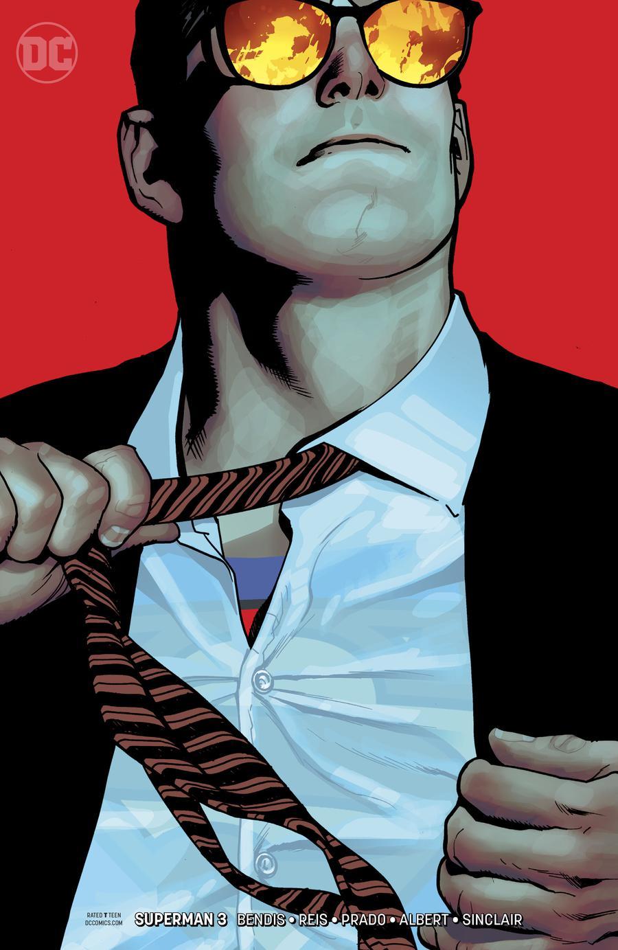Superman Vol 6 #3 Cover B Variant Adam Hughes Cover