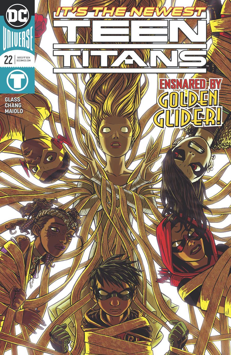 Teen Titans Vol 6 #22 Cover A Regular Nick Derington Cover
