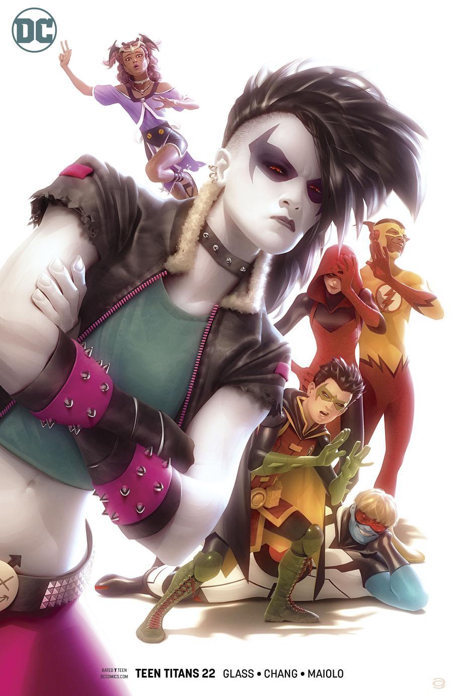 Teen Titans Vol 6 #22 Cover B Variant Alex Garner Cover