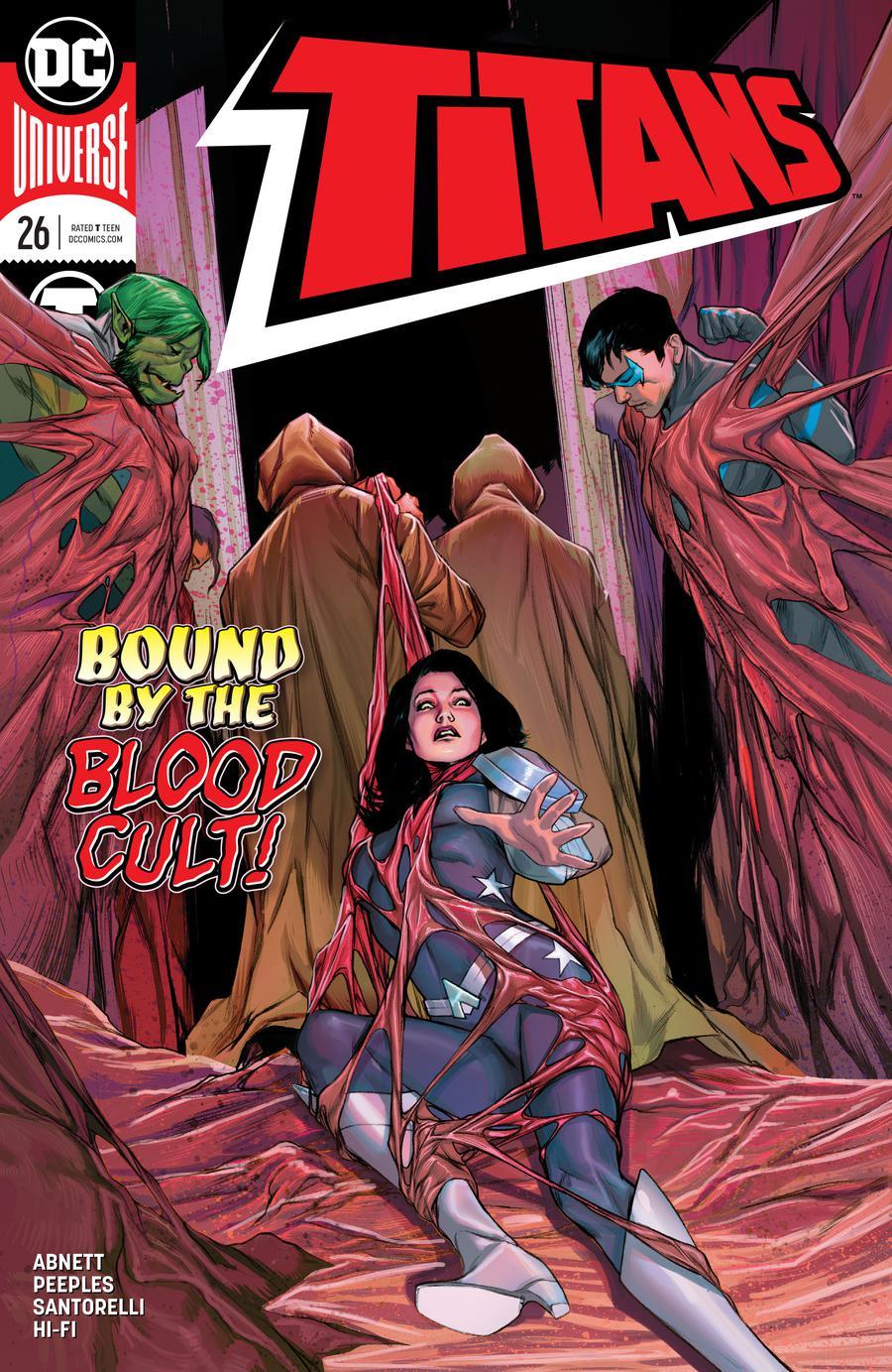 Titans Vol 3 #26 Cover A Regular Brandon Peterson Cover