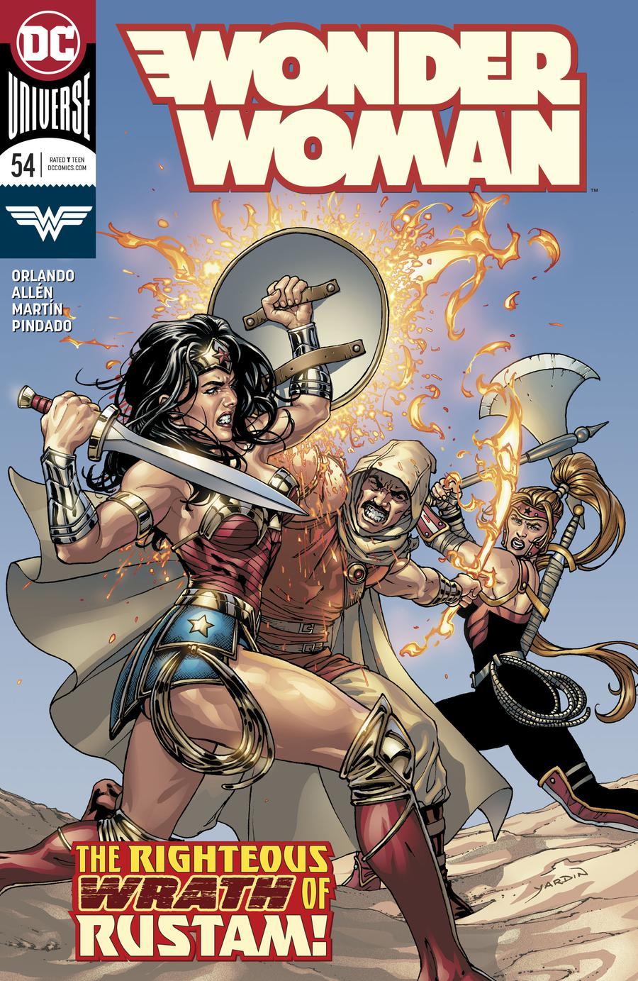 Wonder Woman Vol 5 #54 Cover A Regular David Yardin Cover