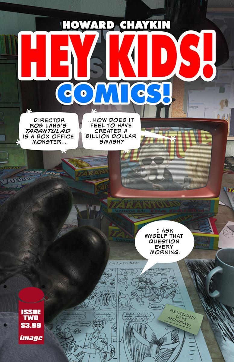 Hey Kids Comics #2 Cover A Regular Don Cameron Cover