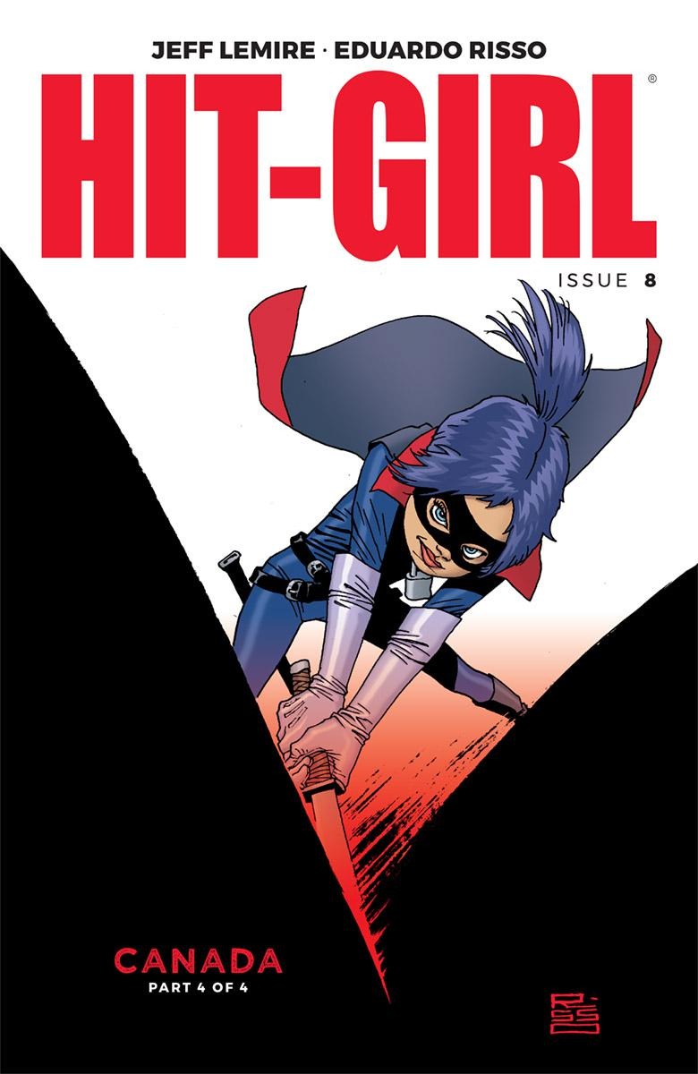 Hit-Girl Vol 2 #8 Cover A Regular Eduardo Risso Color Cover
