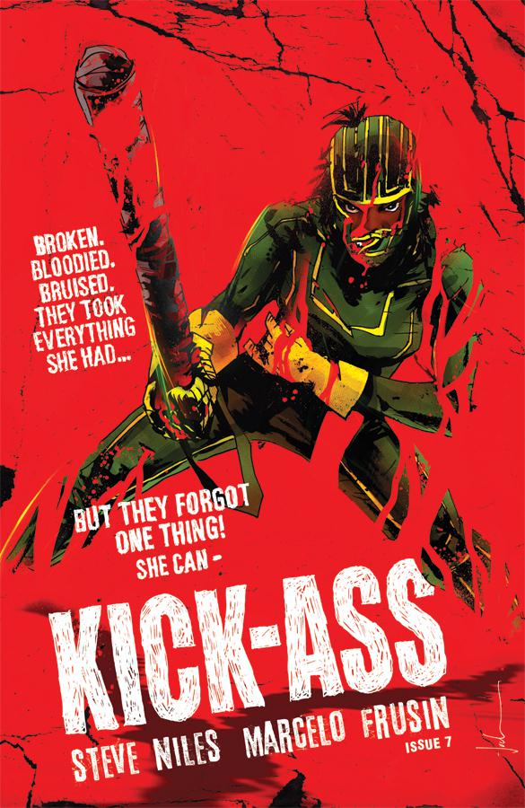 Kick-Ass Vol 4 #7 Cover D Variant Jock Cover