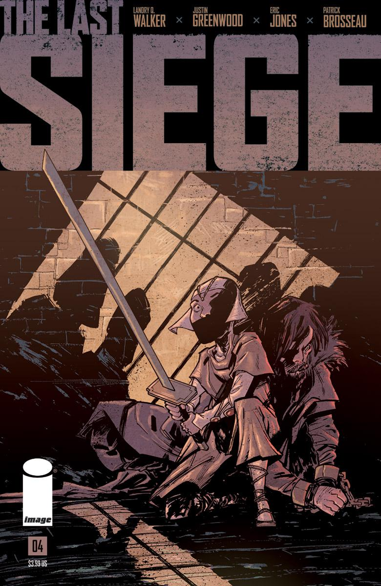 Last Siege #4 Cover A Regular Justin Greenwood Cover
