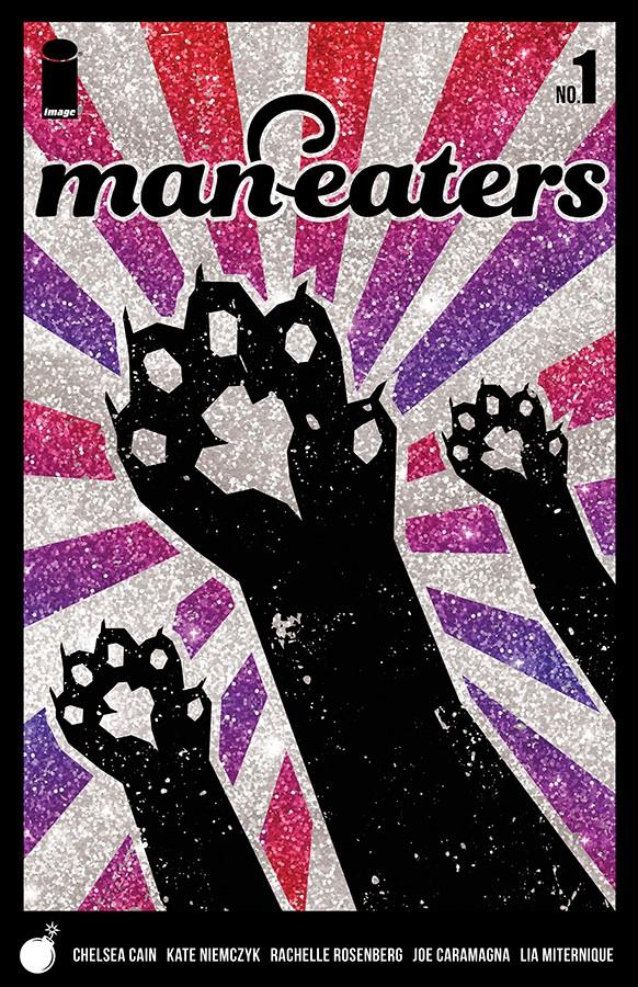 Man-Eaters #1 Cover B Variant Lia Miternique Glitter Cover