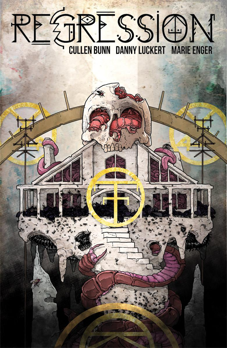 Regression #11 Cover A Regular Danny Luckert Cover