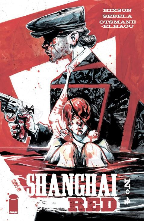 Shanghai Red #4 Cover B Variant Chris Visions Cover