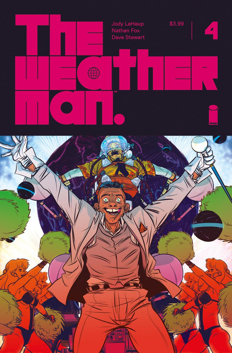 Weatherman #4 Cover A Regular Nathan Fox Cover