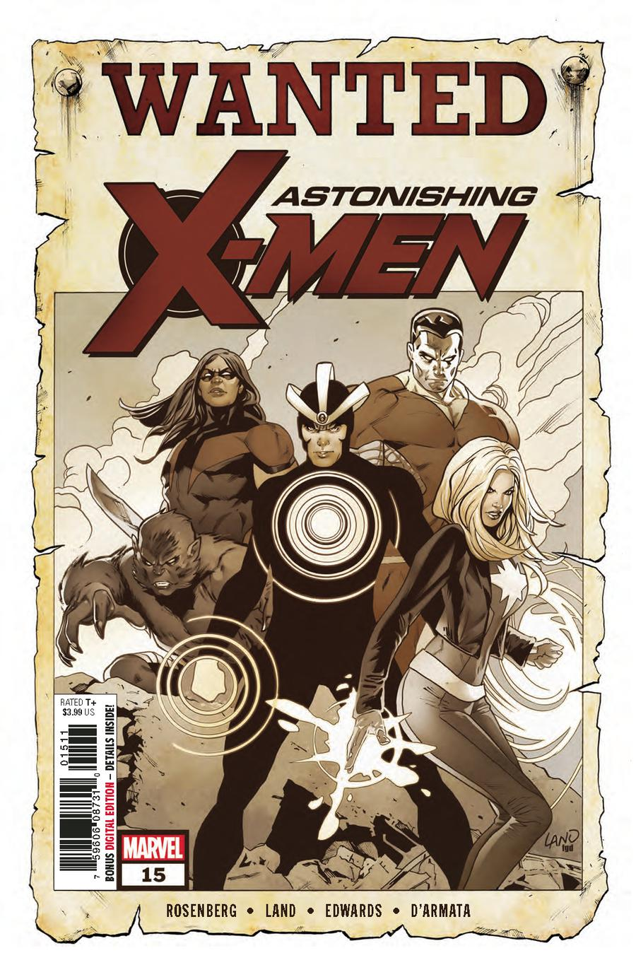 Astonishing X-Men Vol 4 #15 Cover A Regular Greg Land Cover