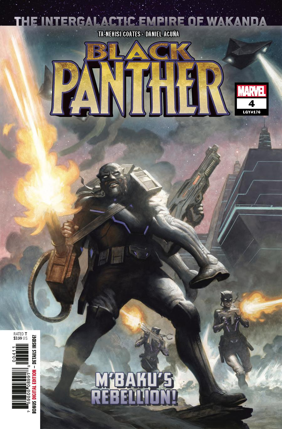 Black Panther Vol 7 #4 Cover A 1st Ptg Regular Paolo Rivera Cover