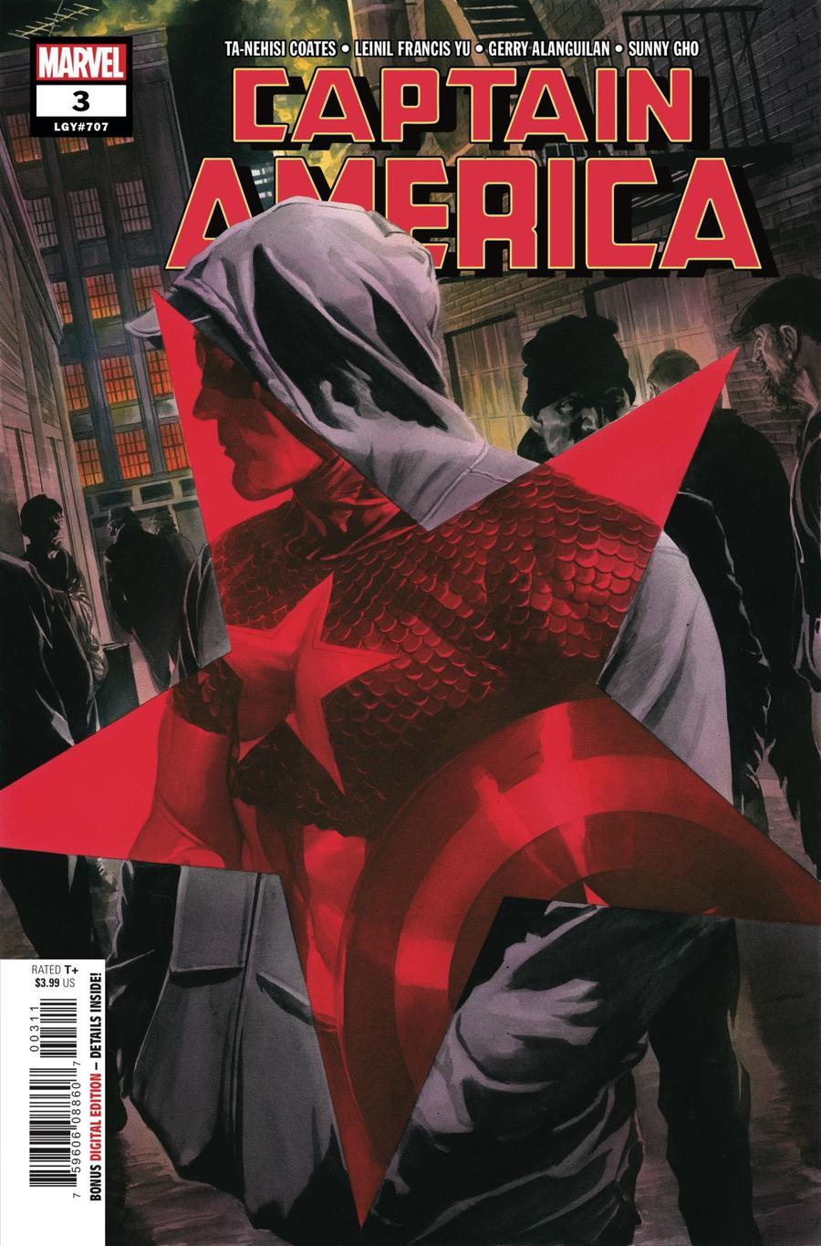 Captain America Vol 9 #3 Cover A 1st Ptg Regular Alex Ross Cover