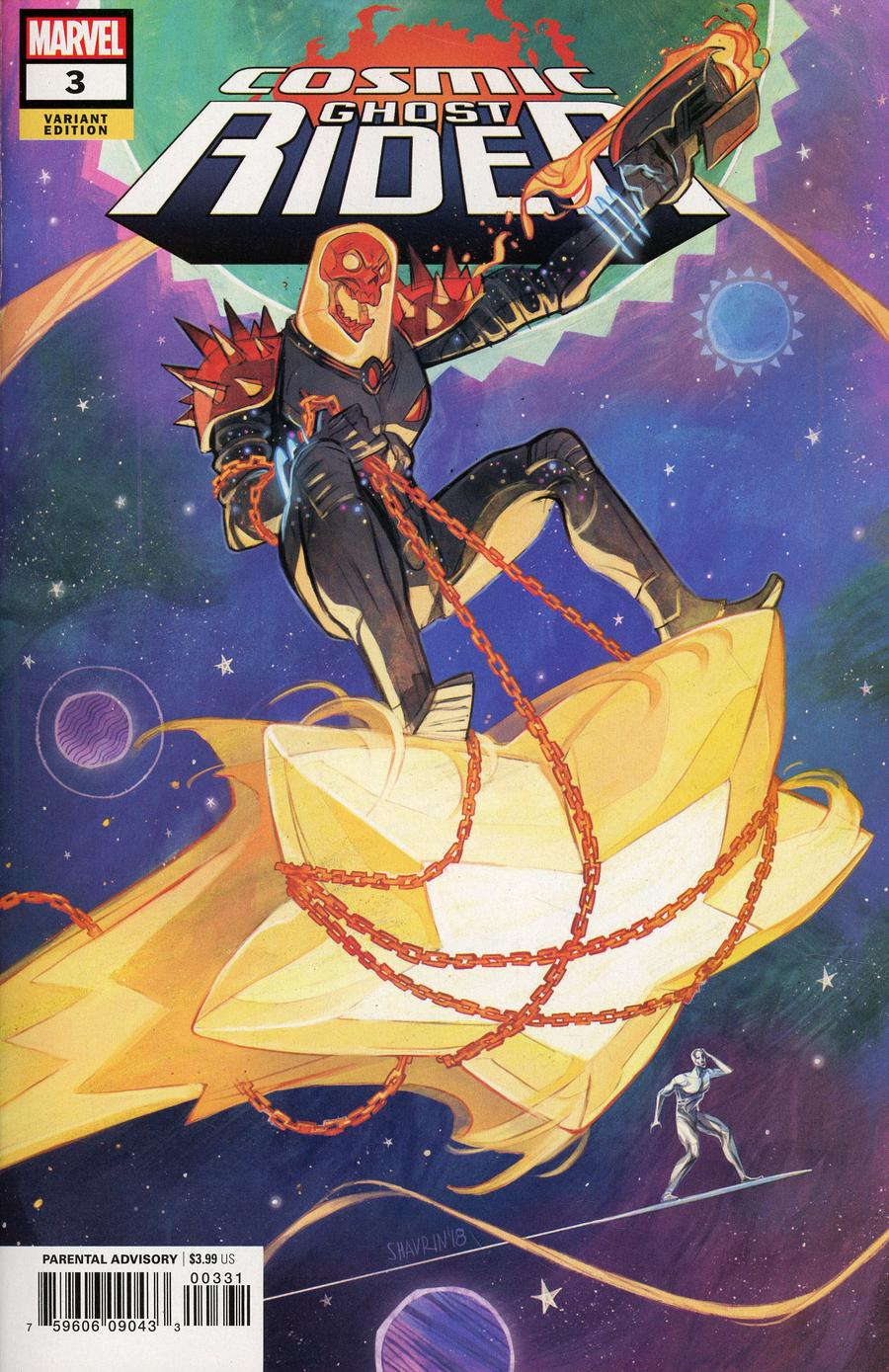 Cosmic Ghost Rider #3 Cover B Variant Ivan Shavrin Cover