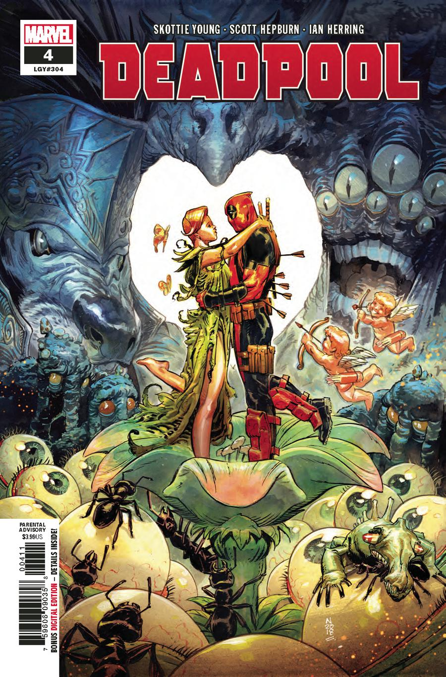 Deadpool Vol 6 #4 Cover A Regular Nic Klein Cover