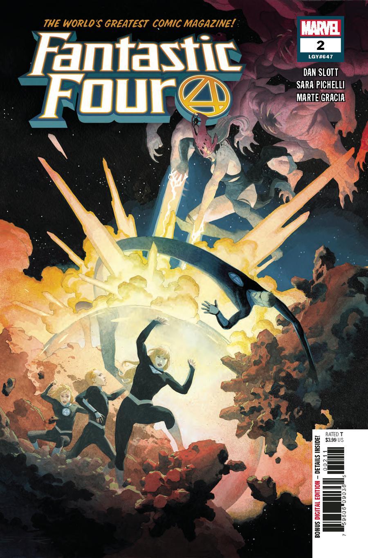 Fantastic Four Vol 6 #2 Cover A 1st Ptg Regular Esad Ribic Cover