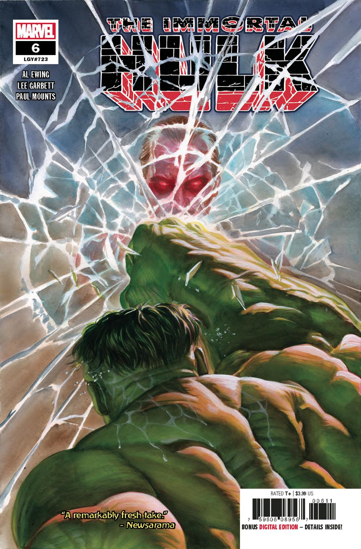 Immortal Hulk #6 Cover A 1st Ptg Regular Alex Ross Cover