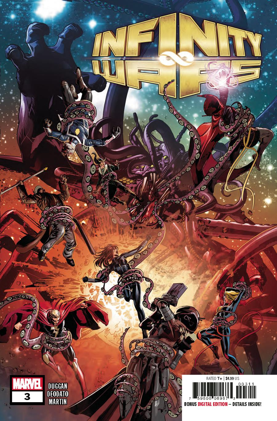 Infinity Wars #3 Cover A 1st Ptg Regular Mike Deodato Jr Cover