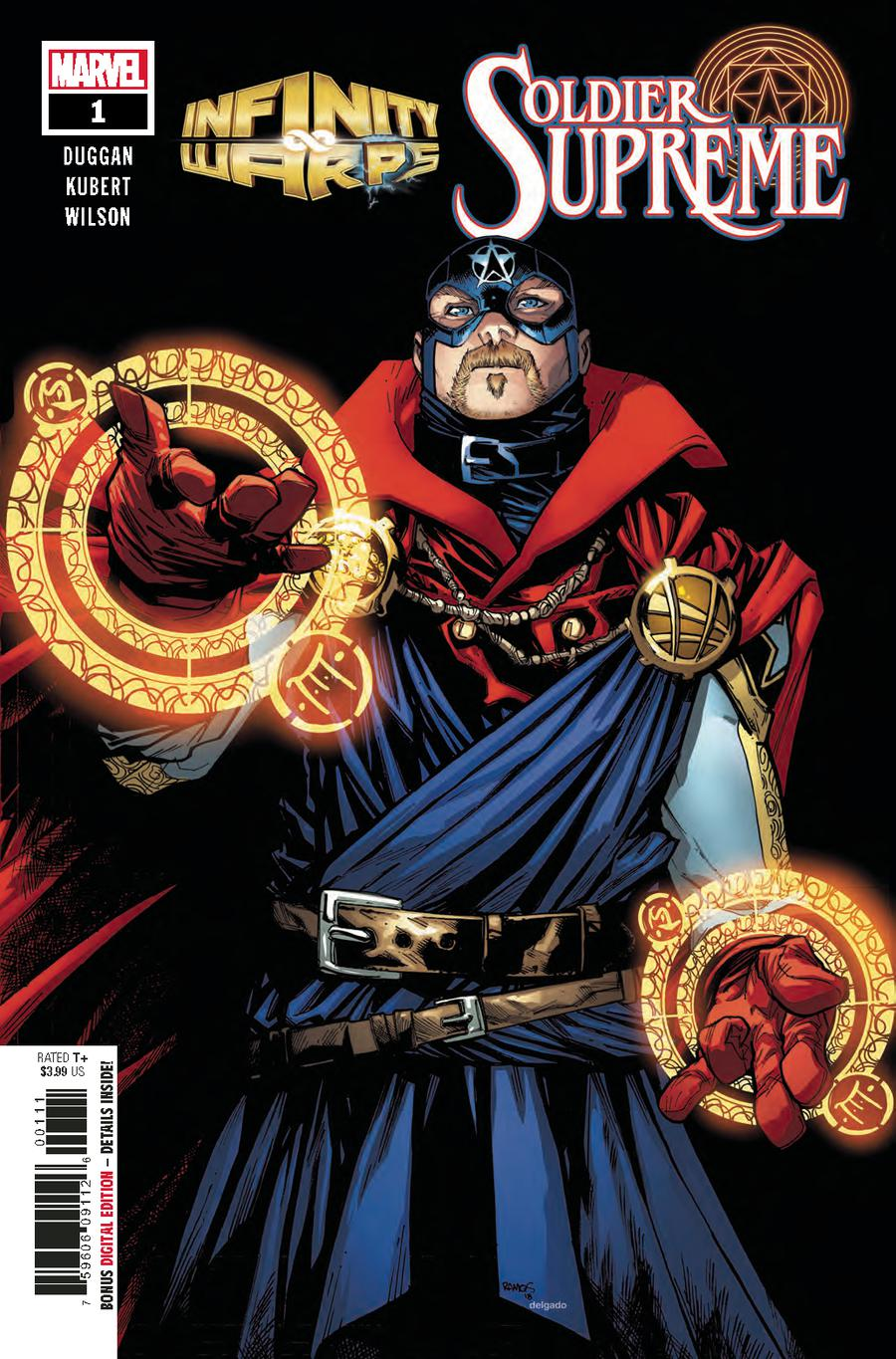 Infinity Wars Soldier Supreme #1 Cover A 1st Ptg Regular Humberto Ramos Cover