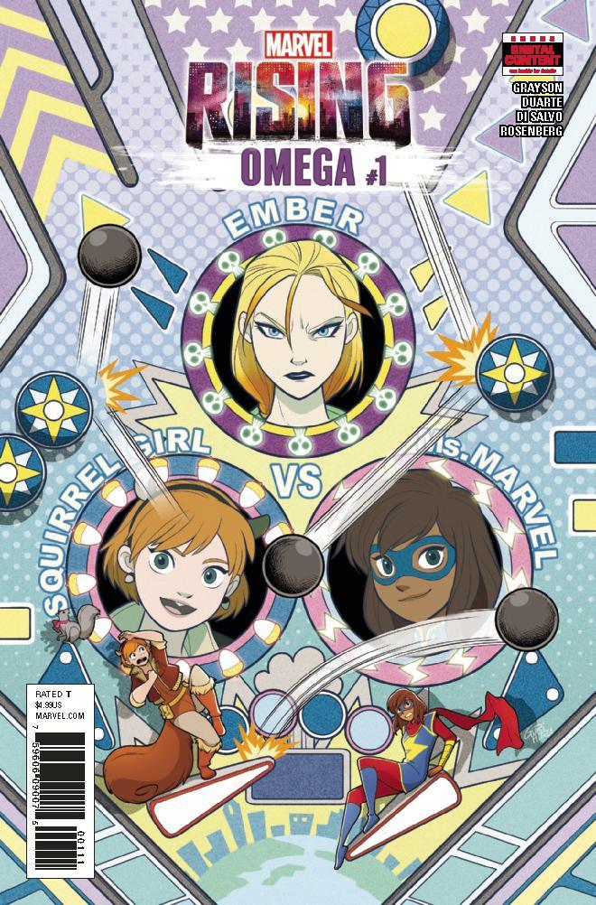 Marvel Rising Omega #1 Cover A Regular Gurihiru Cover