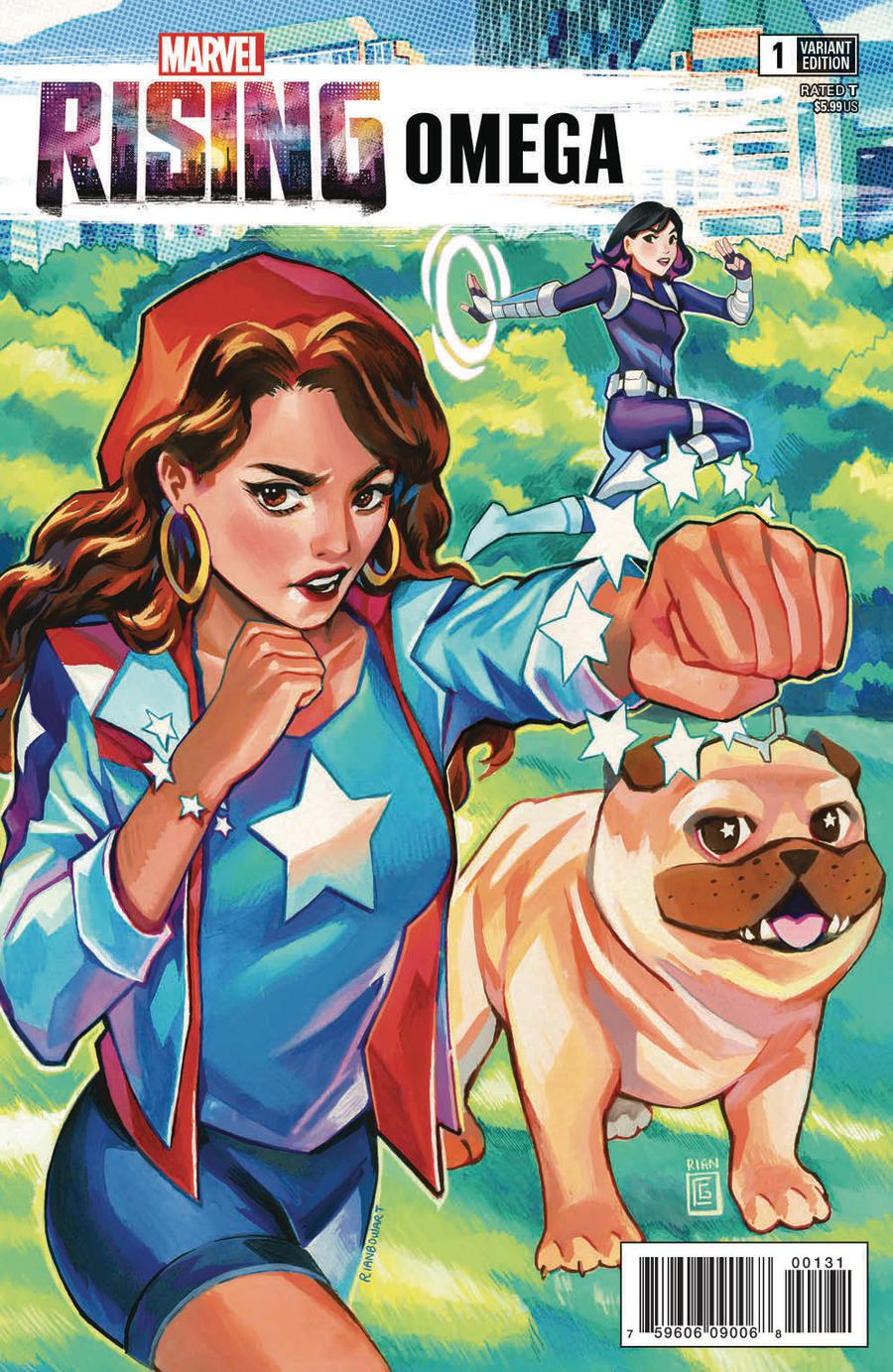 Marvel Rising Omega #1 Cover C Variant Rian Gonzales Connecting Cover